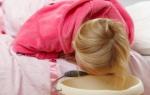 Что дать годовалому ребенку от рвоты