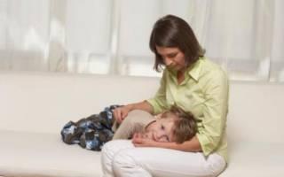 Может ли быть рвота при ангине у ребенка
