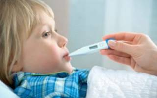 Температура при запоре у ребенка