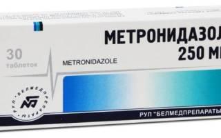 Метронидазол это антибиотик или нет