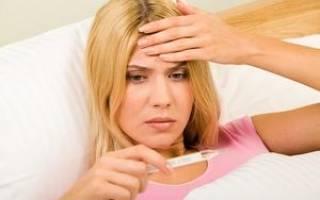Гастрит симптомы температура