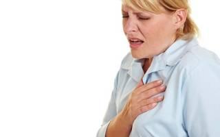 Тошнота боль в груди