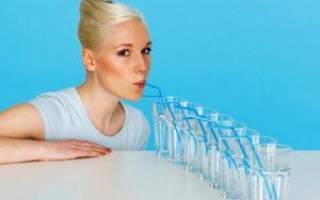 Натощак стакан воды от запора
