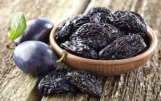 Как запаривать чернослив при запорах