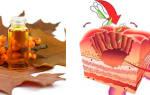 Лечение язвы облепиховым маслом