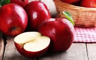 Яблоки при запоре