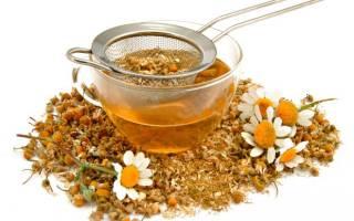 Чай из ромашки при запоре